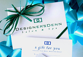 Purchase gift cards from Designer's Denn
